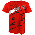 New Season Apparel Motorcycle Motocross casual T-shirt Marc Marquez 93 Black The Ant Moto GP T-shirt Red