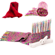 Fashion Children Machine Knitting Tools Scarf Loom DIY Craft Sewing Woven Toys