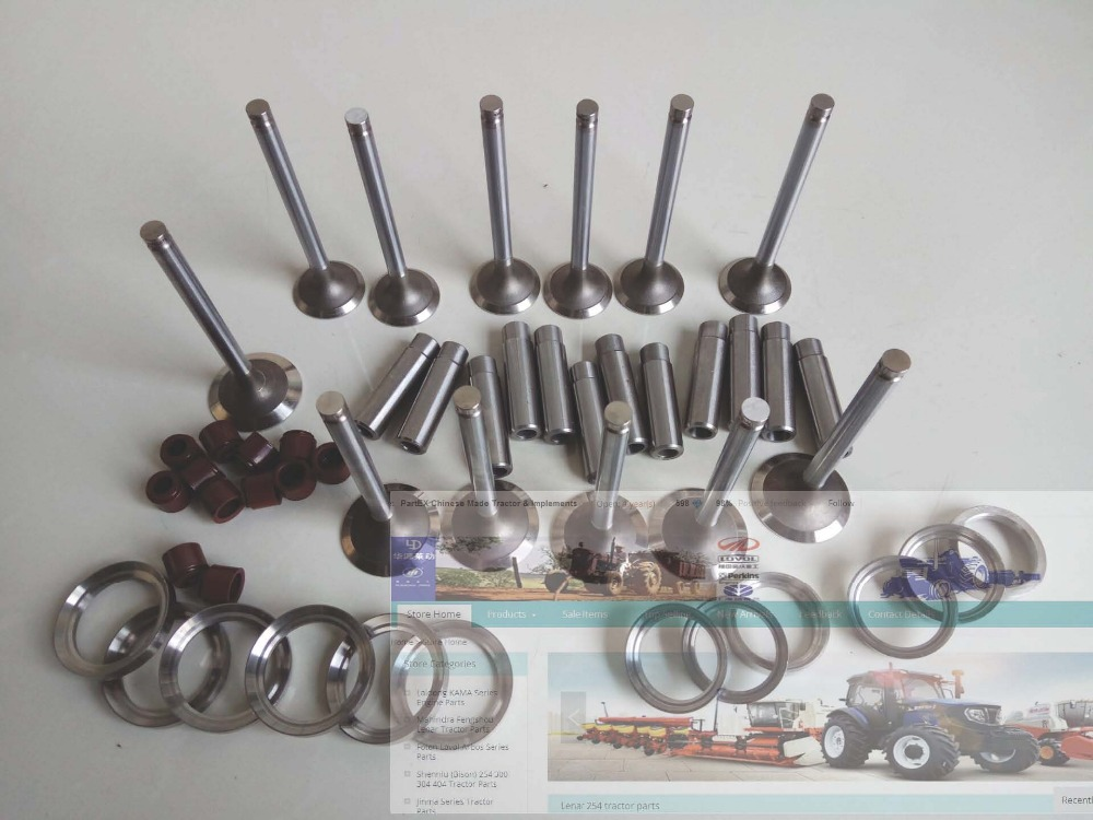 цена Foton Lovol 1006TH engine parts, the set of valve group, part number: