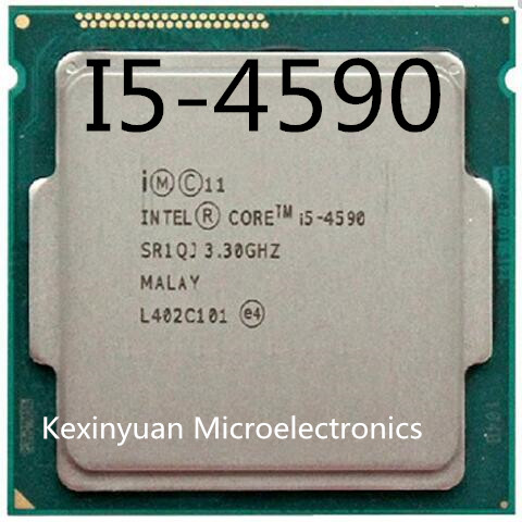 Intel Core I5-4590 I5 4590 3.3 GHz Quad-Core CPU Processor 6M 84W LGA 1150