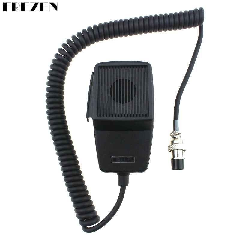 CB-507 Microphone 4 Pin Connector Mobile Radio Speaker For Cobra Uniden Galaxy Car CB Radio Two Way Radios Ham Mic