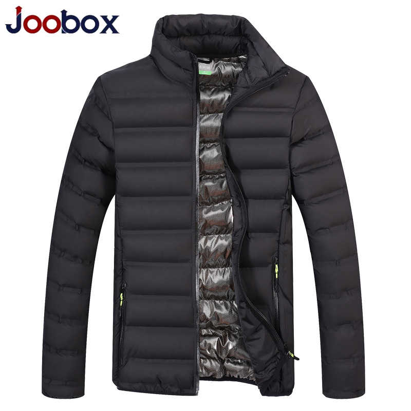 JOOBOX 2019 メンズ光綿パッド入りパーカーコート冬のジャケットの男性軍事生き抜く防風男性ボンバージャケット春秋