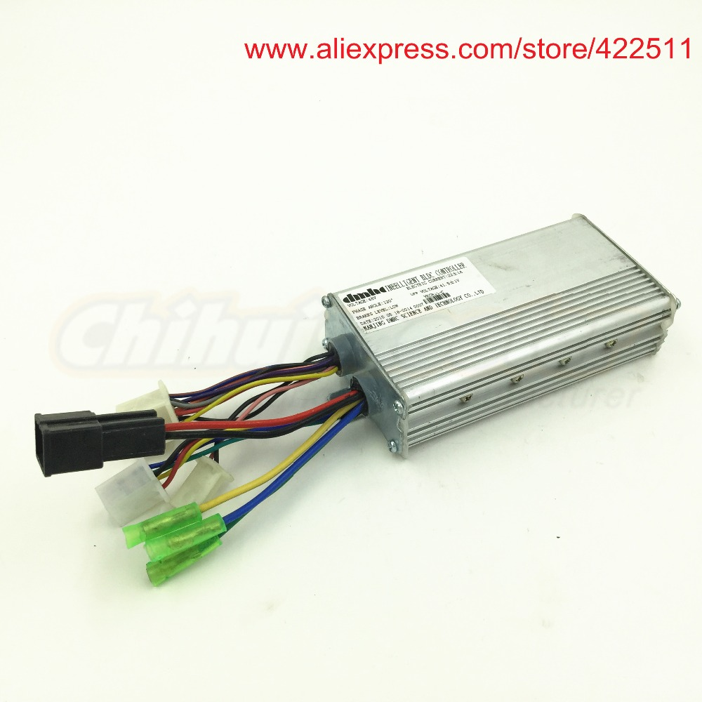 Electric font b Scooter b font BLDC Controller 800W 48V Brushless Hub Motor Controller with Combined