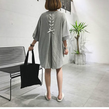 Spring Summer Maternity Clothing Nursing wear 2019 New Plus Size Pregnant Dress Long T-shirt Maternity Breast-feeding Dress korean maternity breast feeding dress clothing pregnancy wear long blouse shirt dresses premama vestido pregnant nursing clothes