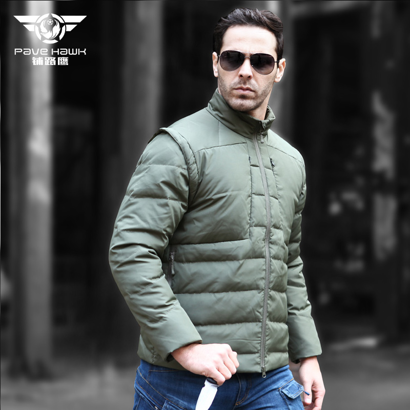 2018 Winter New light down men Sport Men's Down Jacket Warm Coat Male outdoor Stand collar detachable Hiking jacket viishow winter down jacket men new 75 page 6