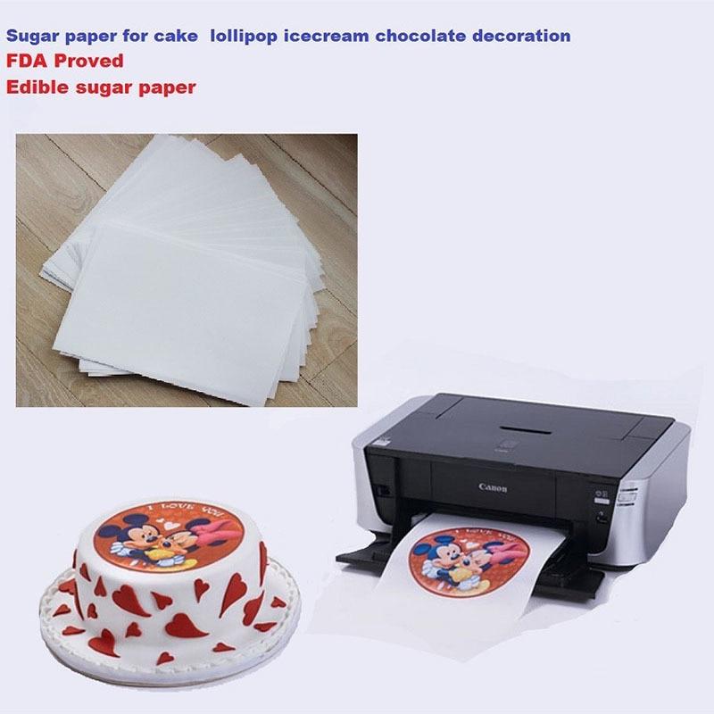 Aliexpress.com : Buy A4 10pcs/lot edible rice paper for ...