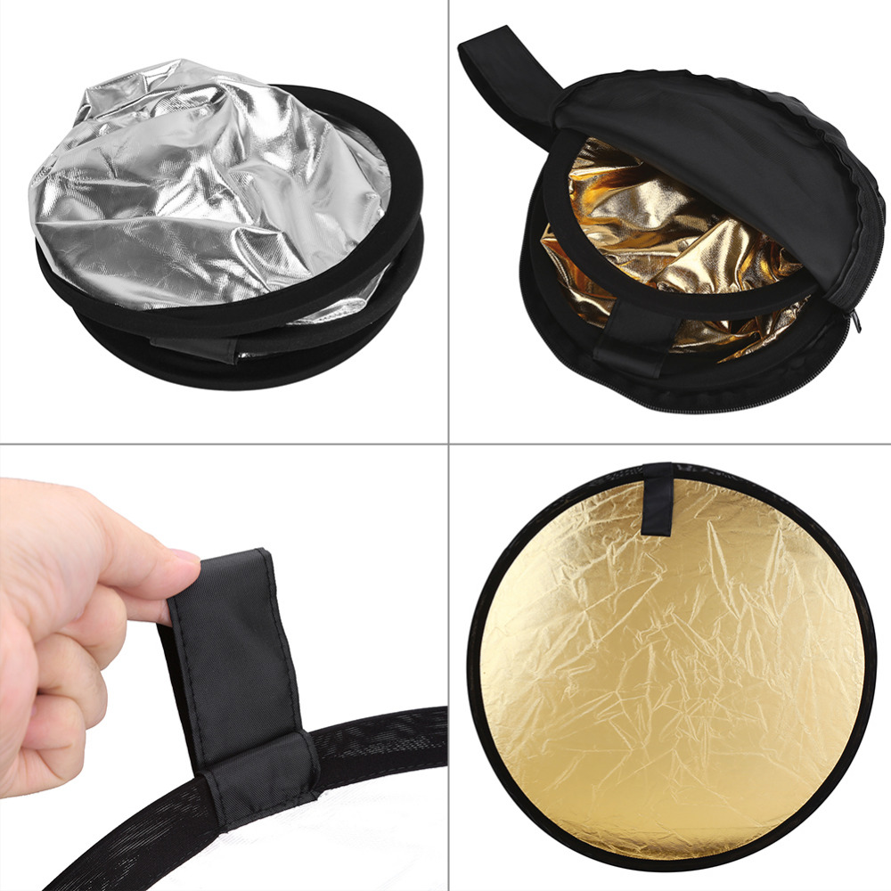 Foldable 2 In1 Portable Light Reflector 23.6