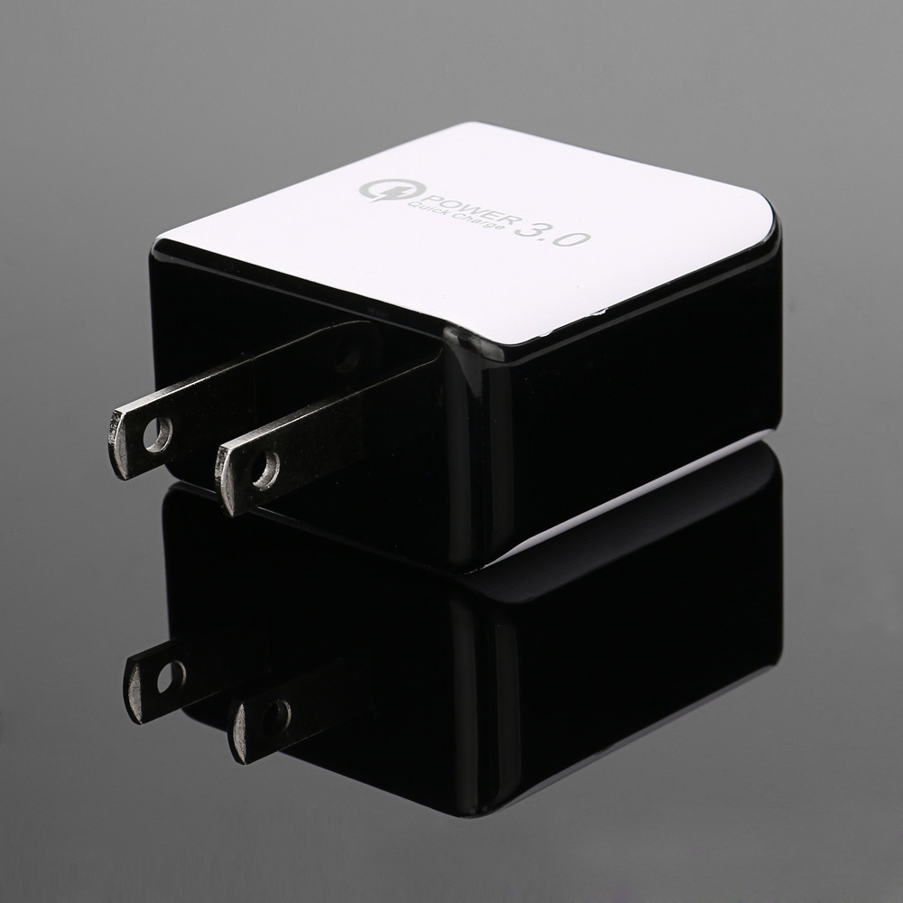 QC3.0 Fast Charge USB 5V 3.1A Travel Wall Charger Adapter US Plug For Samsung May8