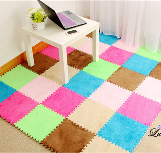 DIY Puzzle Carpet Soft Area Rug For Living Room Rugs And Carpets For Home Kids Carpet Magic Mat