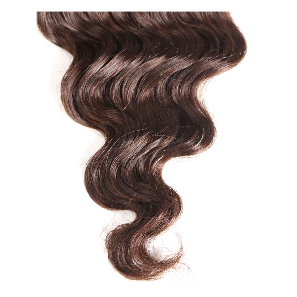 Black Pearl Pre-colored Natural Wave Dark Brown Remy Human Hair 1 Bundle 4# Hair Weave Bundles 100g Hair Extensions Hair Weaves Hair Extensions & Wigs