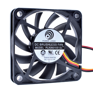 Революция в системах охлаждения PLA06010S12L 6 см 6010 60 мм вентилятор 12В 0.11A 3pin шарикоподшипник компьютер процессор вентилятор охлаждения
