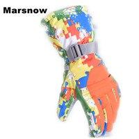 Outdoor Snowboarding Glove Riding Motorcycle Gloves Breathable Men Skiing Glove Windproof Ski Gloves Waterproof Winter Keep