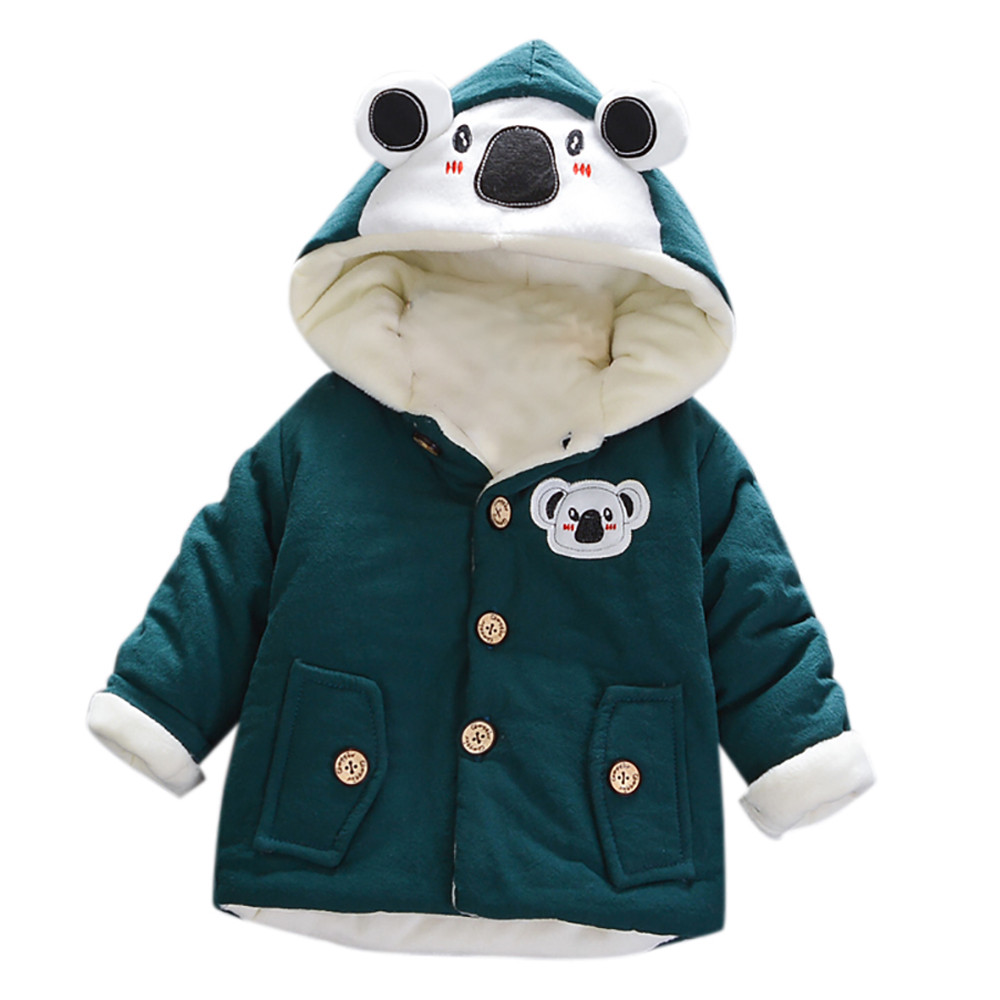Devoted Toddler Kids Children Baby Boys Girls Autumn Winter Hooded Coat Cloak Thick Warm Outwear Outfits Clothes Vestido Infantil 20