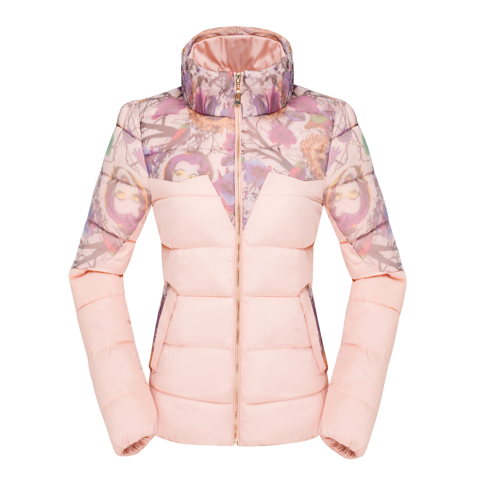Winter Women 's New Small Cotton - Padded Jacket Short Paragraph Slim Thin Cotton Clothing Thickening Students Cotton Jacket inc new beige women s size small s faux leather knit motorcycle jacket $99