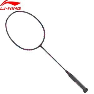 Image 2 - Li Ning Turbo Charging N9 II Badminton Rackets Single Racket Professional Equipment Carbon Fiber LiNing Rackets AYPL178