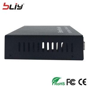 Image 4 - Bliy 4G2E 10/100/1000 Мбит/с гигабитный ethernet коммутатор, 4 оптоволоконных порта модуля sfp и 2 порта RJ45, лучший сетевой коммутатор FTTH