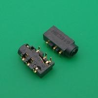 Conector audio do soquete do microfone do porto do fone de ouvido de 6 pinos 3.5mm para asus n550 q550 q550lf n550j n550ja n550jv n550jk n550lf connector 3.5mm connector asus connector socket -