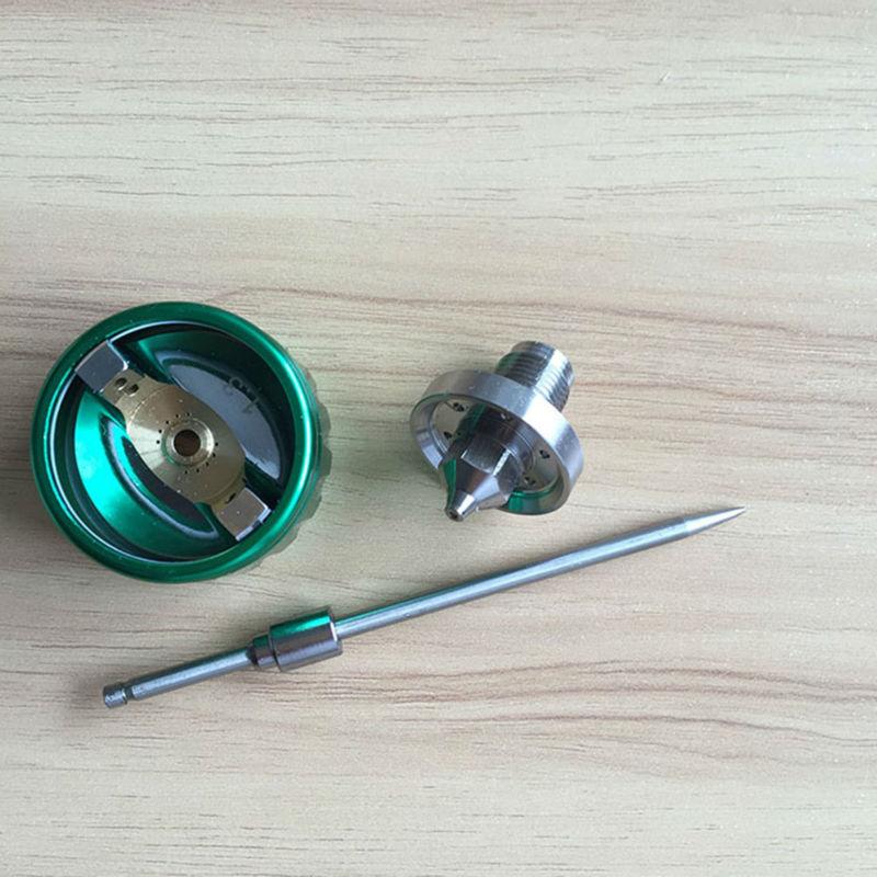 SAT1189 spedizione gratuita doppia testa pistola a spruzzo vernice - Utensili elettrici - Fotografia 5