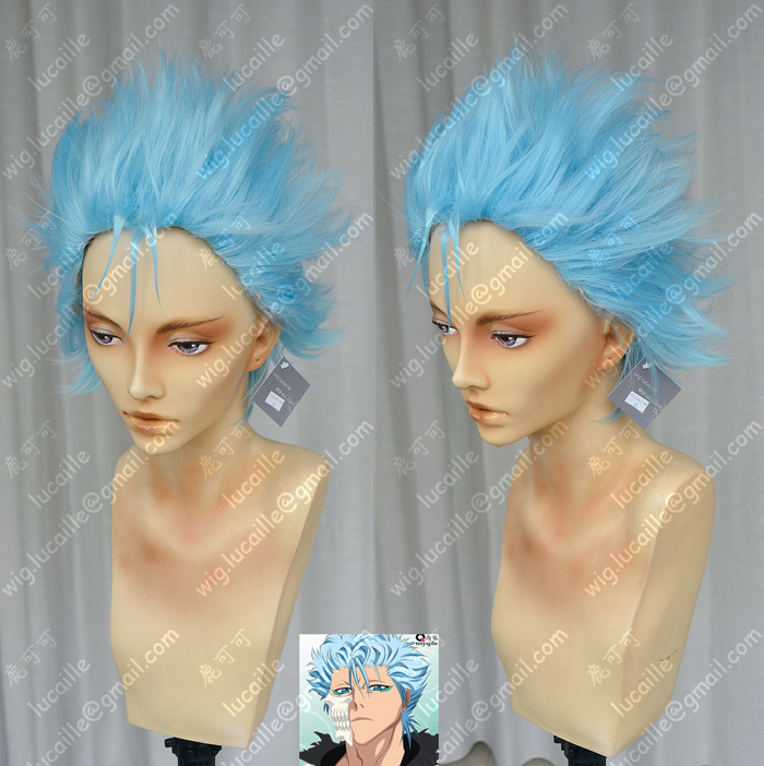 BLEACH Grimmjow Jeagerjaques cosplay wig wigs