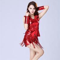 Hot Jazz Dance New Cheerleading Costumes Ds Sequins Female Modern Dance Wear Adult Hip Hop Jazz Dance Set S 3XL