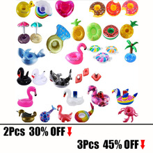 New Flamingo Summer Pool Party Decoration Funny Fruit Cartoon Animals PVC Balloon Inflatable Cup Coaster