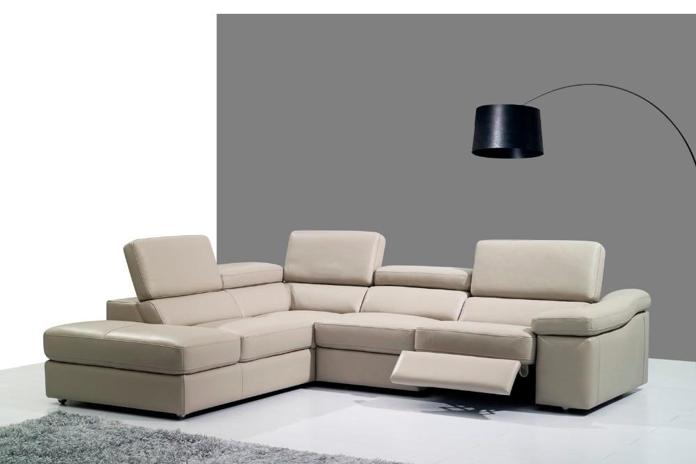Genuino divano in pelle set divano del soggiorno sezionale/angolo divano set mobili per la casa divani funzionali poggiatesta L shape reclinabileGenuino divano in pelle set divano del soggiorno sezionale/angolo divano set mobili per la casa divani funzionali poggiatesta L shape reclinabile