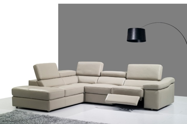 Genuine Leather Sofa Set Living Room Sectional Corner Home Furniture Couches Functional