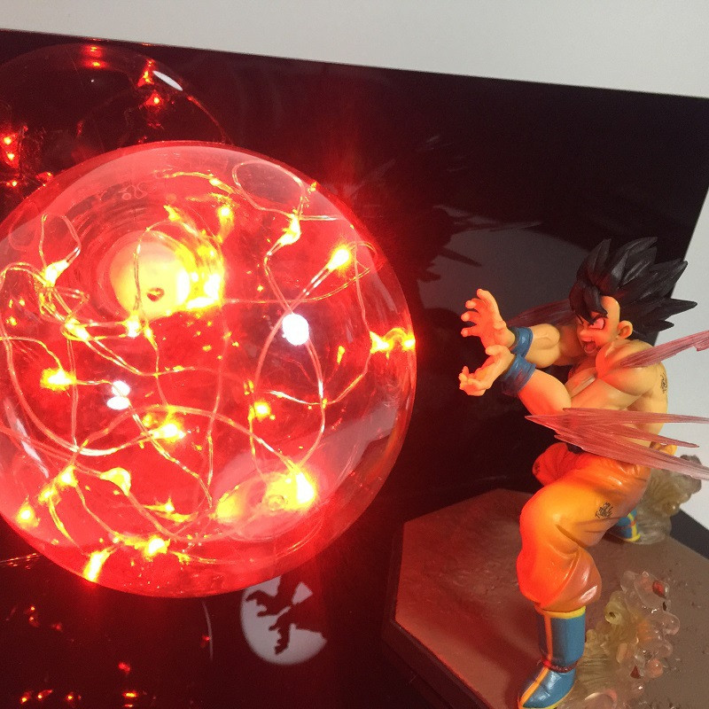 Wholeset Dragon Ball Son Goku Son Gohan Bombs Luminaria Led Night Light RGB Hoom Decorative Led Lamp In 110V 220V 230V 240V