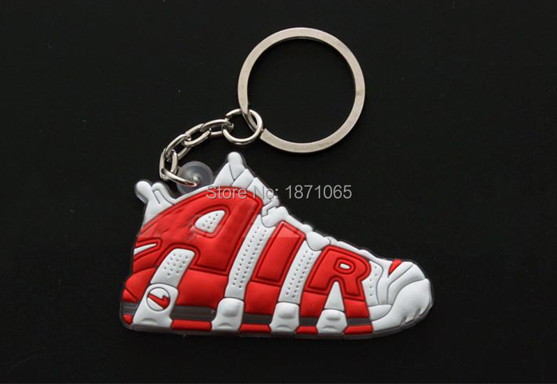 3Pcs/Lots Novelty Big AIR Key Chain Pendent For Man Woman Sneaker Silicone Kids Pendant Toys For Children Adults Gifts