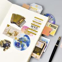 24 Pcs DIY Diary Decor Beautiful Animal Scrapbooking Stamping Mini Paper Sticker Photo Album Hand Account Vintage Bronzing