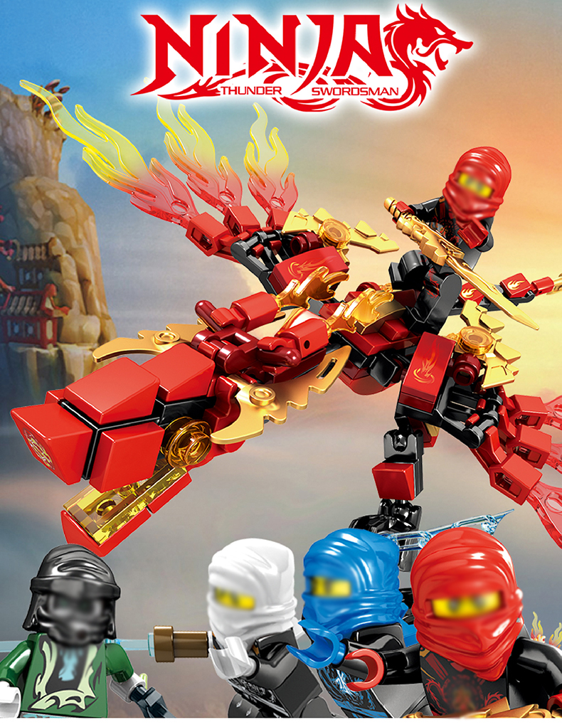 Ninjago Dragon Building Blocks 24