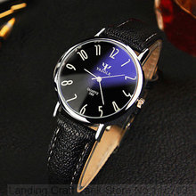 Yazole nueva negro reloj de pulsera de señoras de las mujeres 2017 de la marca famosa mujer reloj de cuarzo reloj de cuarzo-reloj montre femme del relogio feminino
