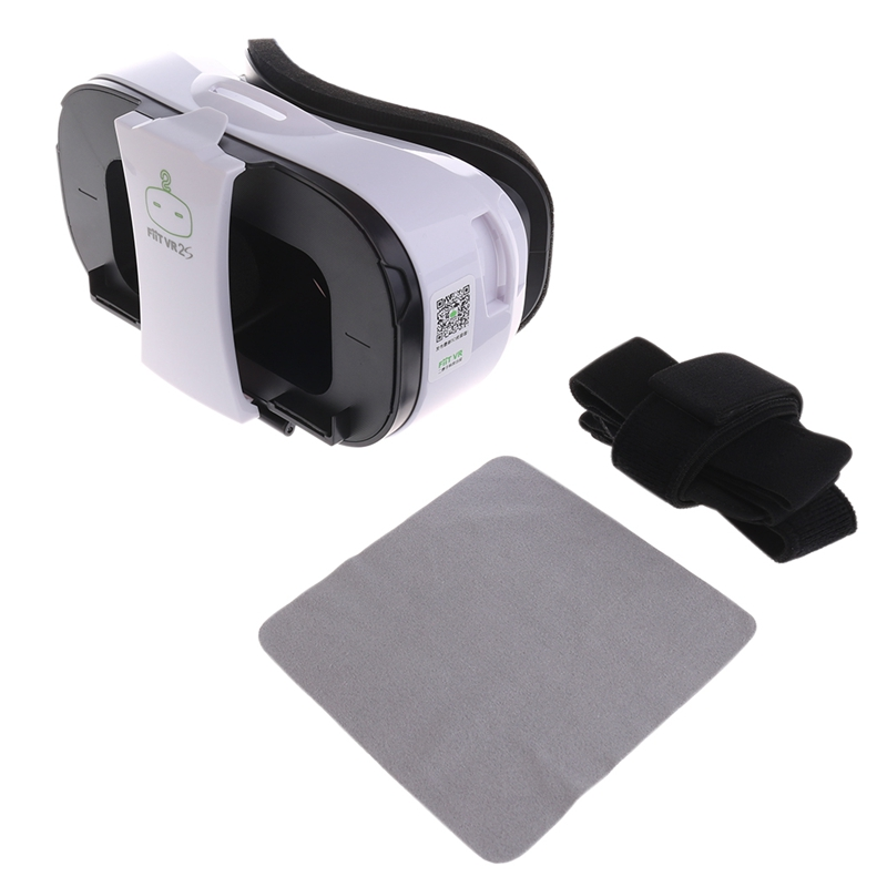 OOTDTY FiiT VR 2S Virtual Reality Headset 3D Glasses VR Box For Smartphone 4.0-6.5 Inch