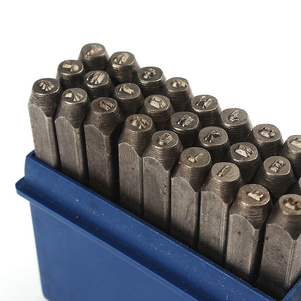 Metal Stamping Machine Tool Belarus: Free Shipping Capital Steel Die Punch Letter Number