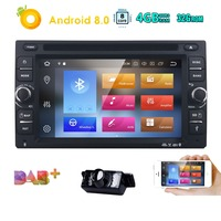 8/OctaCore 4GB+32GB 6.2''Android8.0 Universal Car DVD Radio Audio Stereo GPS Navigation 2Din Tape Recorder Head Unit SWC 4G WIFI