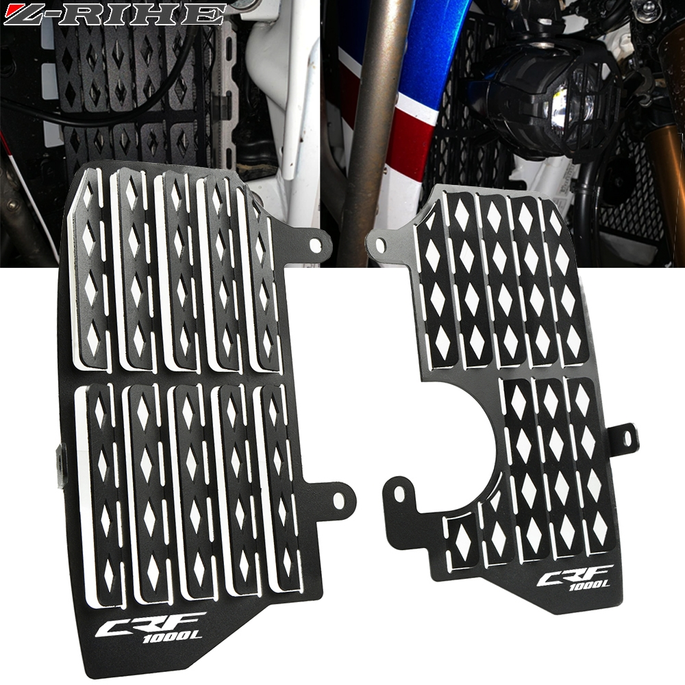 Motorcycle Radiator Grille Guard Cover Protector For Honda CRF1000L Africa Twin 2016 2019 2018 Motorcycle Accessorie