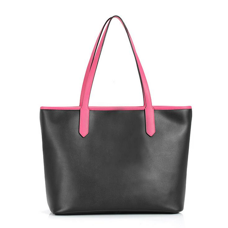 2017 Brand Design Fashion 100% Genuine Second Layer Cow Leather Women Large Tote Shoulder Bag Sac a Main шина hankook winter i cept iz2 w616 215 55 r16 97t
