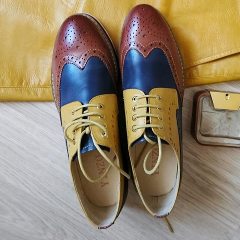 Woman discount Oxford Leather