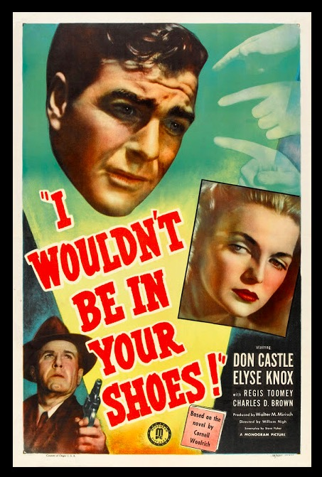 I Wouldn't Be in Your Shoes Sexy Beauty Classic Movie Film Noir Retro Vintage Poster Canvas DIY Wall Paper Home Decor Gift image