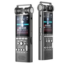Professionelle Stimme Aktiviert Digital Audio Voice Recorder 16GB USB Stift Nicht Stop 100hr Aufnahme PCM 1536 Kbps, unterstützung TF Karte