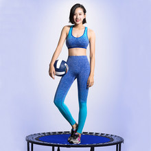 High Quality Women Sports Sets 3 in 1 Sports Bra/Zipper Jacket/Compression Legging Running Yoga Jogging Fitness