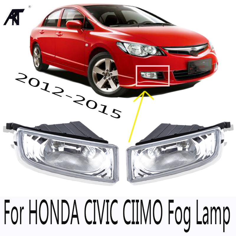 High quality front bumper Fog lamp fog light For CIVIC FD2 FD1 2006 2011 For CIIMO 2012 2013 2014 2015
