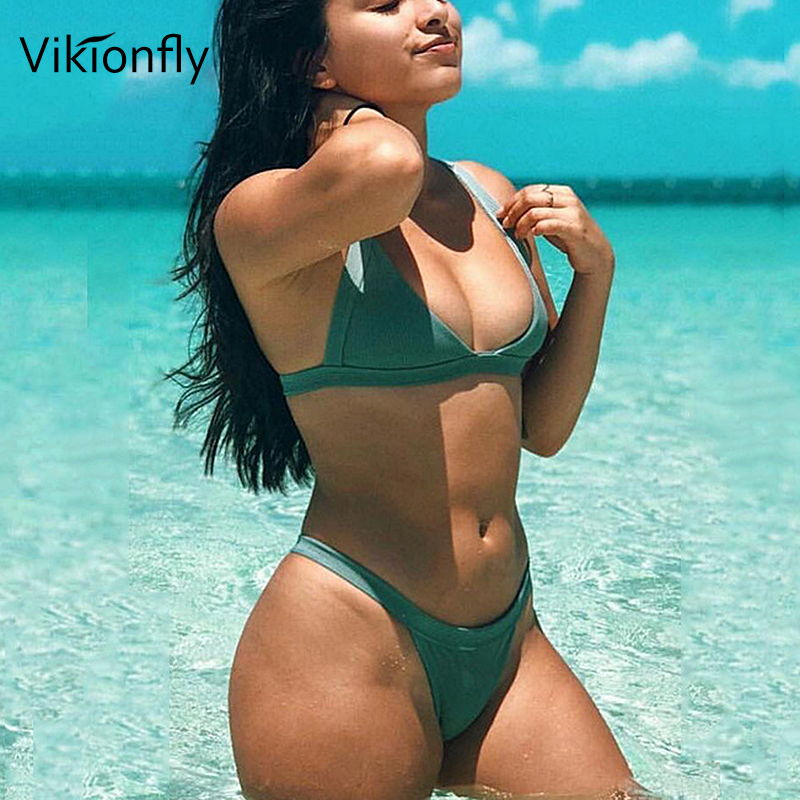 Vikionfly <font><b>Extreme</b></font> <font><b>Micro</b></font> Thong <font><b>Bikini</b></font> Women Swimsuit 2019 <font><b>Sexy</b></font> <font><b>Mini</b></font> <font><b>G</b></font> <font><b>String</b></font> Bathing Suit For Ladies Brazilian Swimwear <font><b>Bikini</b></font> image