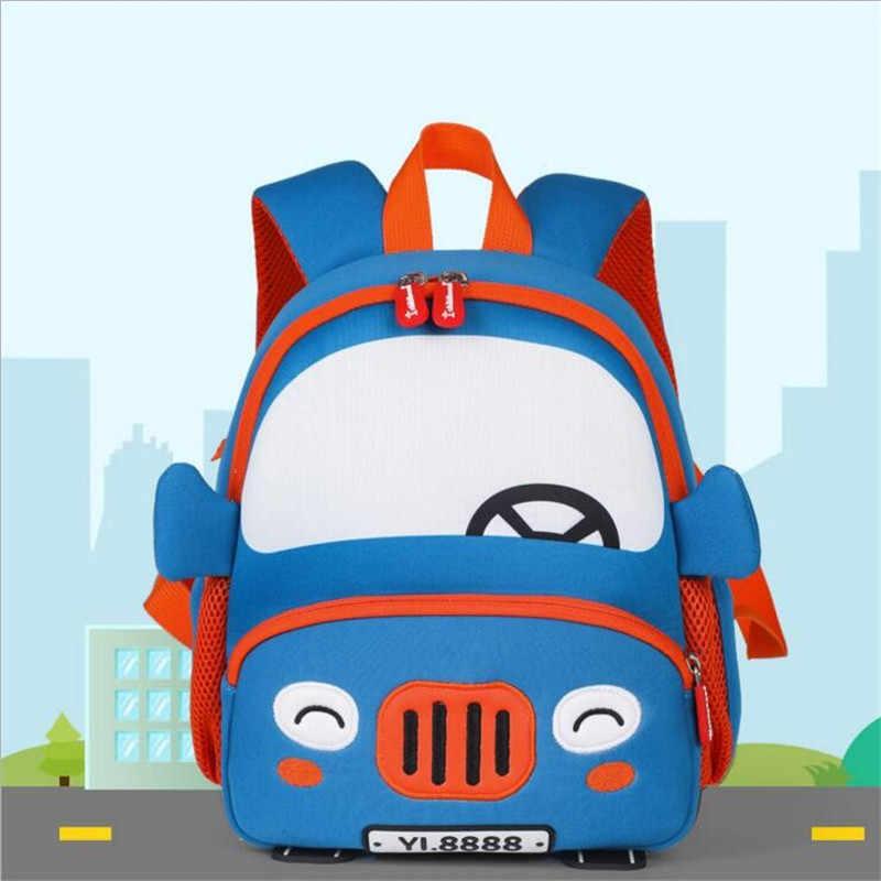 Boys Bag 2019 Children Backpack For Girls Cartoon Pig Pattern Backpacks Orthopedic School Bags Student Satchel Mochila Infantil