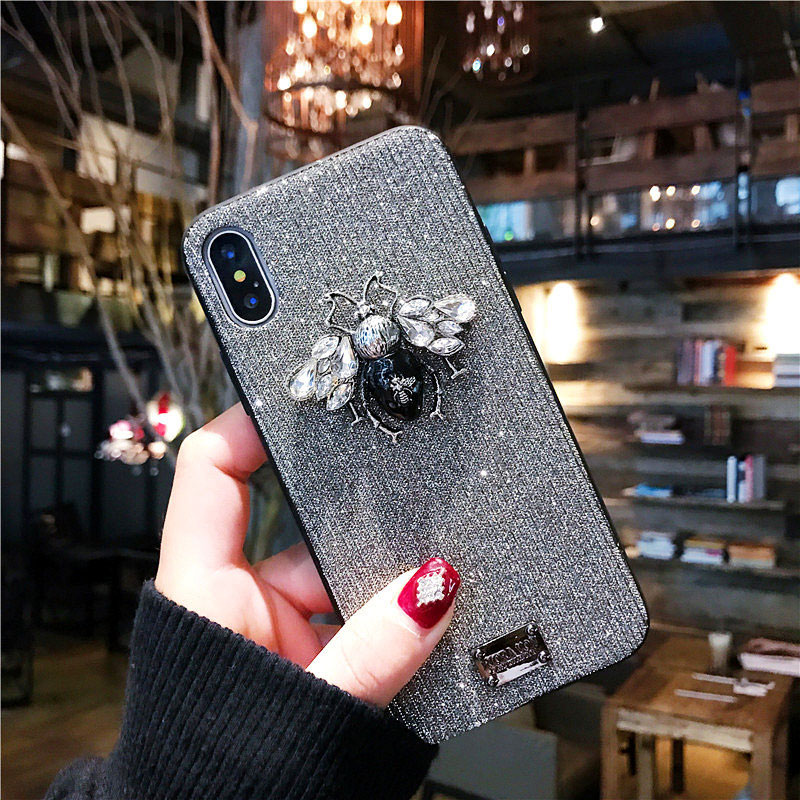 bling bling luxury cute iphone 6 6s 7 8 plus x xr xs max case  (16)