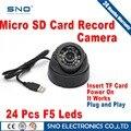 SNO USB Tf Cartão de 64 GB Câmera Dome IR CCTV Segurança Auto de Visão Noturna Gravador de Condução Do Carro DVR Gravação de vídeo À Prova D' Água câmera