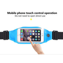 Hot Selling Waterproof Sport Gym Waist Bag Case Running Wallet Mobile Phone Pouch For iPhone 6/6S/7 4.7inch -B5(China)