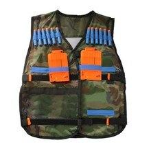 Tactical Vest Adjustable with Storage Pockets fit for Nerf N Strike Elite Team