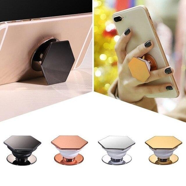 Soporte expansible para el dedo del soporte para IPhone X XR XS Max Samsung lindo anillo soporte Pipsocket soporte bolsa de aire celular soporte del teléfono