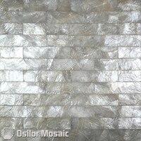Hoa văn gạch 100% capiz shell mẹ của pearl mosaic tile cho phòng khách ốp tường